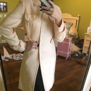 Loft gingham coat